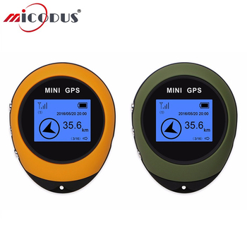 Handheld GPS Compass 1.4 Inch Record the Travel Distance Mini GPS Navigation USB Charging Outdoor Sport Provide Current Position