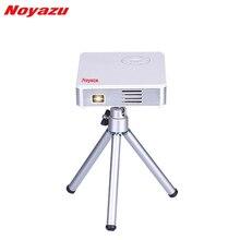 Noyazu Inteligente WIFI DLP Pico Proyector Portátil Mini Proyector LLEVADO con HDMI/USB de Control Inalámbrico para el Hogar Al Aire Libre de Viaje
