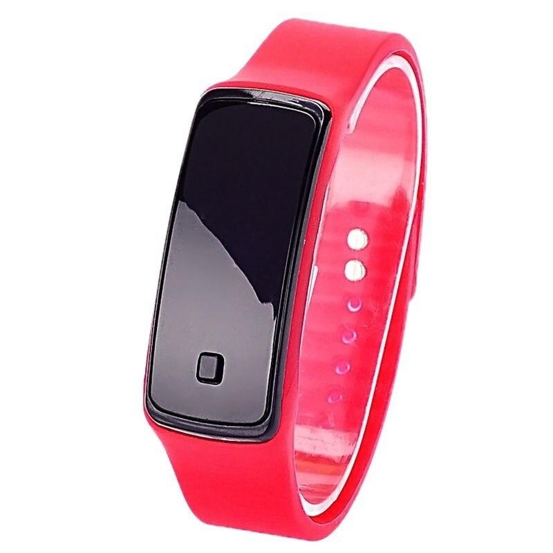 FUNIQUE Moda dzieci cyfrowy zegarek kobiet mężczyzn elektroniczny - Zegarki dziecięce - Zdjęcie 3