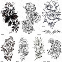 Compra Girl Roses Tattoo Y Disfruta Del Envío Gratuito En Aliexpresscom