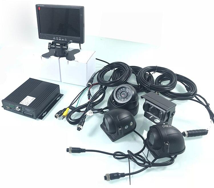 kit de monitoramento de máquinas pesadas carro privado ônibus PAL NTSC