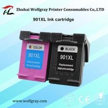 2PCS 901 901XL ink cartridge For HP Officejet 4500 J4500 J4580 J4550 J4540 J4680 J4524 J4535 J4585 J4624 J4660 for hp901