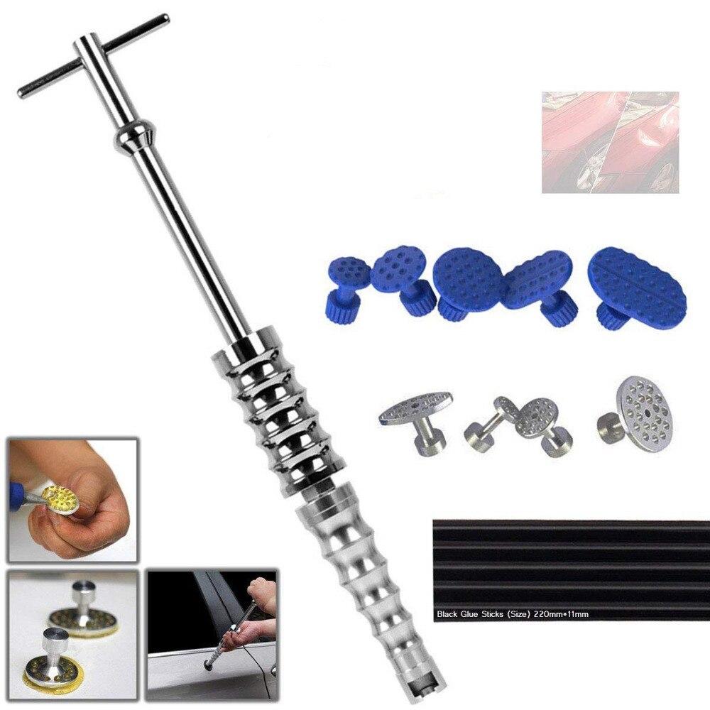 Car Body Paintless Dent Repair Tools Puller Kit Removal /& Glue Pulling Tabs