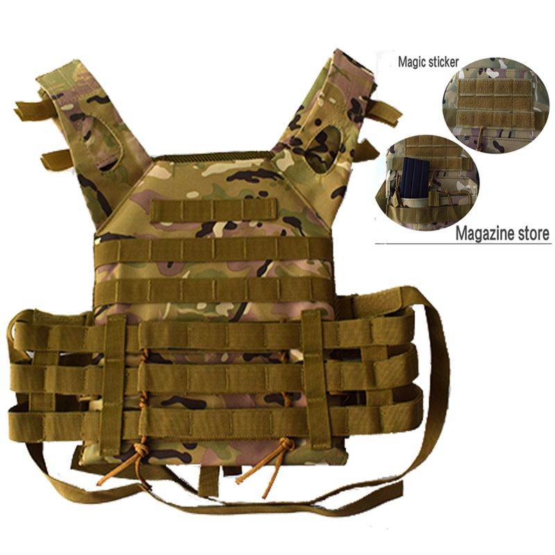 Tactical Accessoris Plate Carrier Military Molle Body Armor JPC Outdoor Airsoft Hunting Shooting Safety Protective Tactical Vest wosport military hunting vest enhanced tactical 500dnylon molle jpc shooting game body armor rig plate carrier airsoft paintball