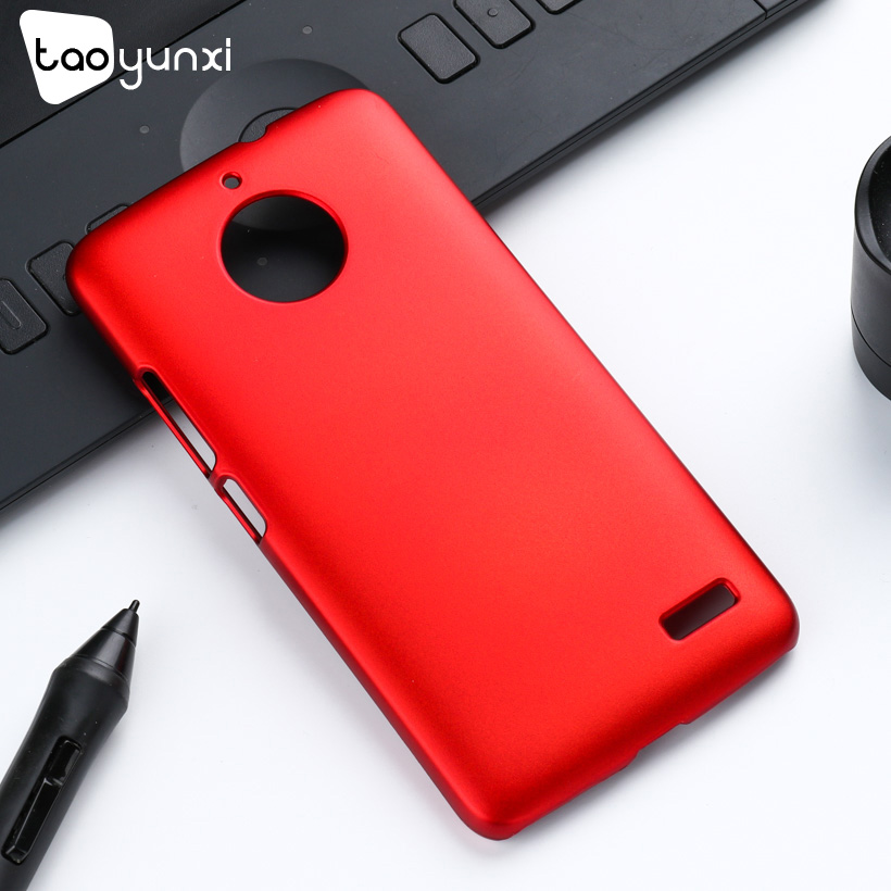 TAOYUNXI Ultra thin Case For Moto <font><b>E4</b></font> Cases European Version Hard Plastic Matte Frosted For <font><b>Motorola</b></font> <font><b>E4</b></font> Cover Oil-coated <font><b>xt1762</b></font> image