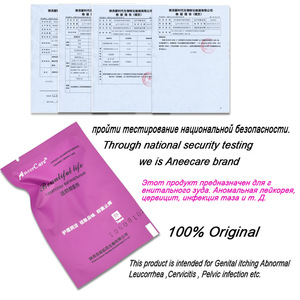 Image 5 - 24 pces medicina chinesa cotonete vaginal descarga de tampões toxinas yoni higiene feminina ginecológica cura cuidados cotonete tampões