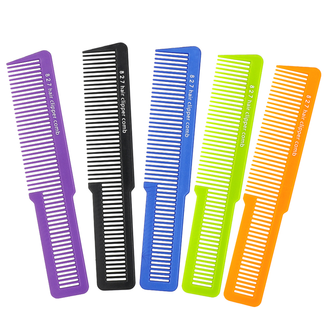 1 PCS 827 Haircut Men Clipper Comb Hot Selling Salon Hairdressing Carbon Antistatic Comb Executor Hair Trimmer Comb Multi Colors