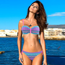 Brazilian Push Up Swimwear Bikini Tribal