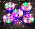 O envio gratuito de alta qualidade 3 p 6 p cores lâmpada led de luz com interruptor 10 pçs/lote led brilhando no céu fábrica pipa pipa atacado
