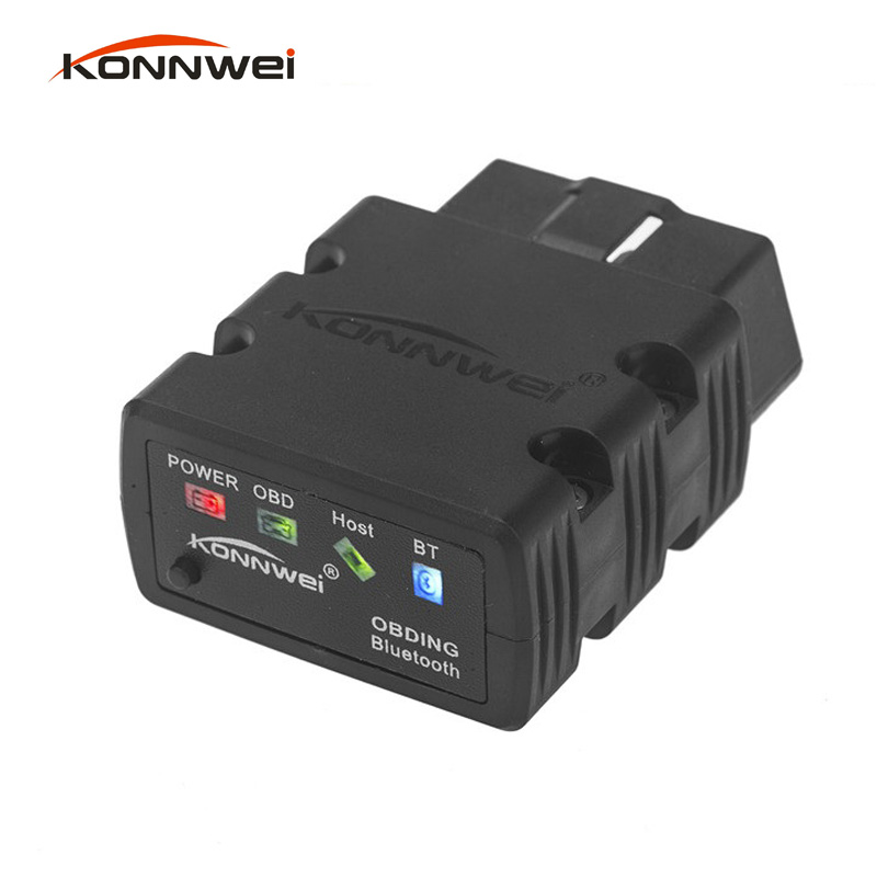 KW902 Elm327 Bluetooth OBD2 V1.5 elm <font><b>327</b></font> v 1.5 bluetooth Adapter Car Scanner OBD <font><b>2</b></font> Elm-<font><b>327</b></font> OBDII Auto Diagnostic Tool Scanner image