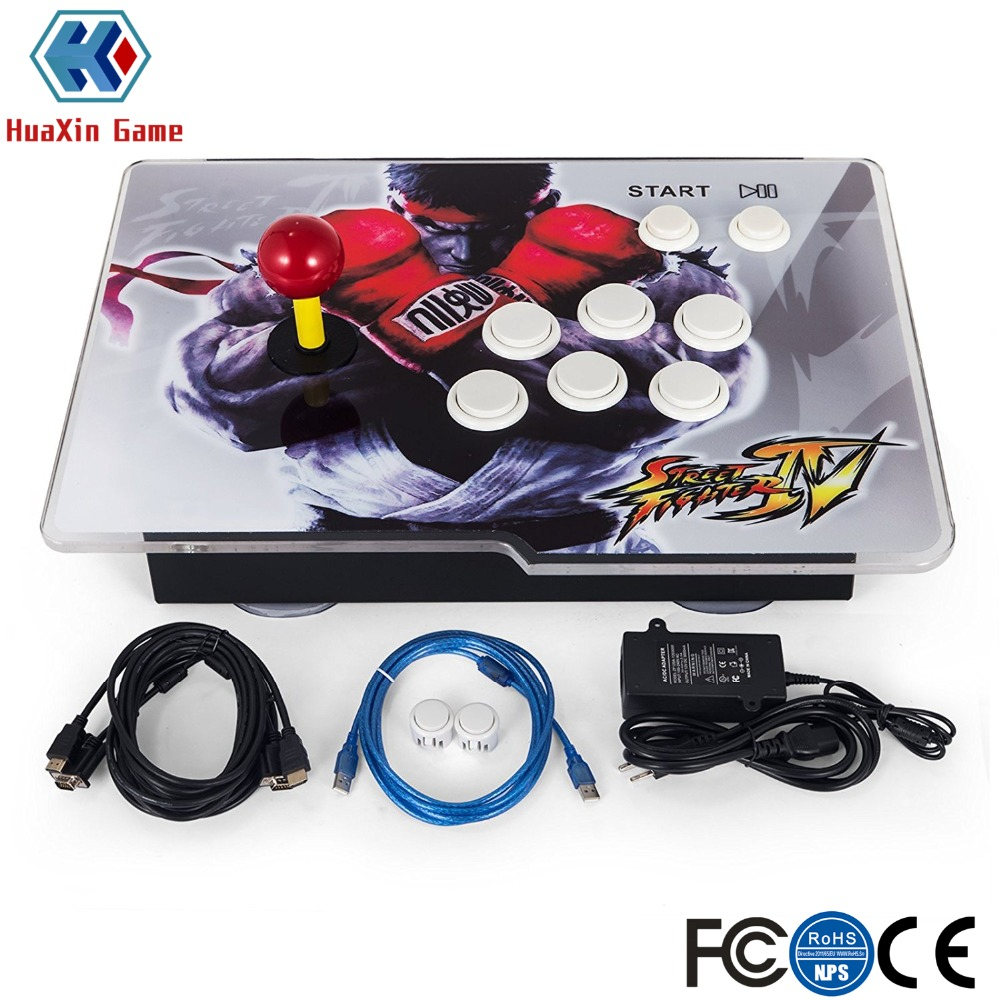 Arcade Game Console 1388 Classic Video Game 1 Player Home Arcade Console with HDMI VGA USB for TV PC Retro Arcade Console цена