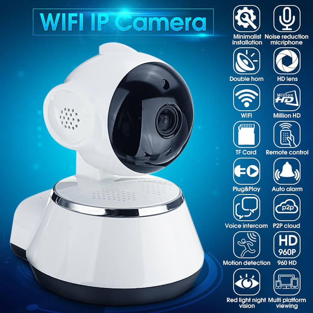 Wireless HD 720p IP WiFi Camera CAM Network