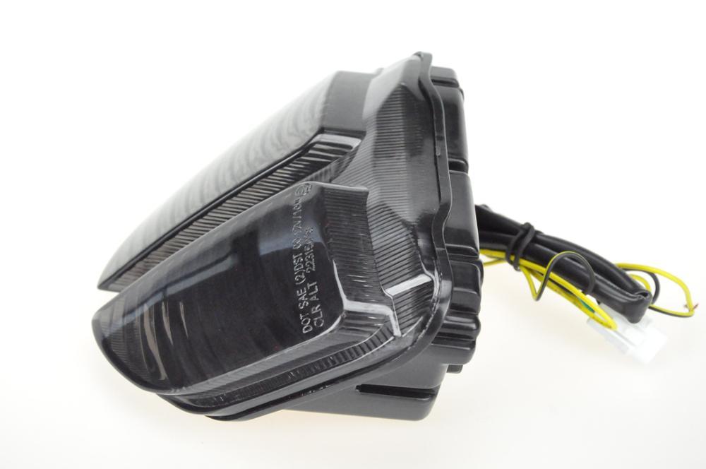 Светодиодный Встроенный задний фонарь сигнала поворота для SUZUKI GSXR600/GSXR750 05-07