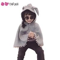 New 2016 Fashion Combi Baby Coats Boys Girl S Smocks Outwear Cute Rabbit Ear Cloak With