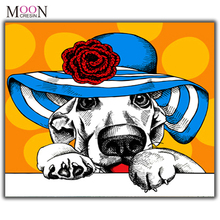 MOONCRESIN Diamond Painting Cross Stitch Green Eyes Diy Embroidery Square & Round Mosaic Decoration Big Kit