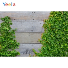 Yeele Green Leaves Wooden Board Texture Pots Planks Goods Show Photography Backgrounds Photographic Backdrops For Photo Studio yeele rose flower simple wooden board texture planks goods show photography backgrounds photographic backdrops for photo studio
