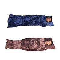 Ultralight Outdoor Sleeping Bag Liner Envelope Type Portable Single Sleeping Bag Camping Hiking Travel Sleep