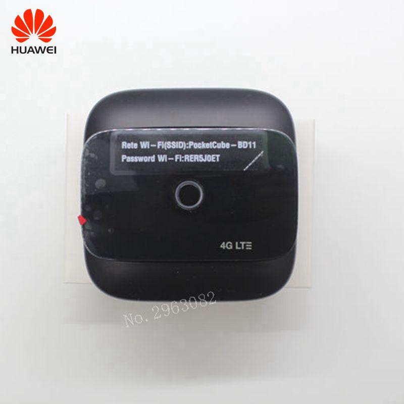 Débloqué nouveau d'origine Huawei E5575 E5575s-210 4G LTE WiFi routeur Mobile Hotspot 4G Portable WiFI Modem routeur PK E5577