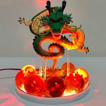 Bolas de Dragón Z con el Dragón Shenron con Led Figuras Merchandising de Dragon Ball