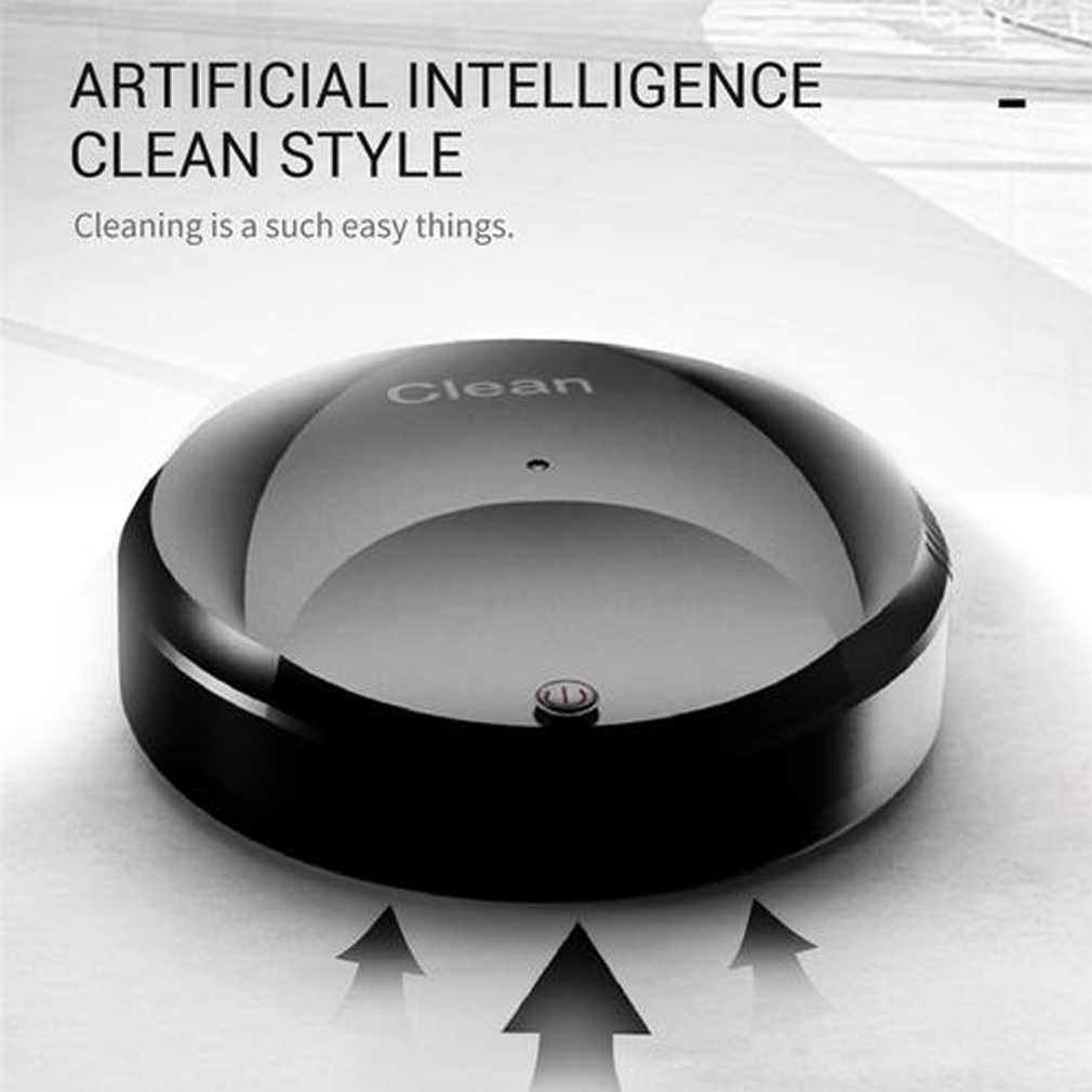 Automatic Rechargeable Strong Suction Sweeping Smart Clean Robot 12