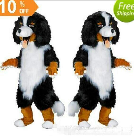 Mouton mascotte Costume Costume Cosplay partie jeu robe tenue publicité Halloween adulte - 2