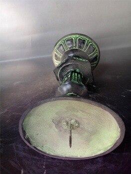 Candelabro de bronce antiguo de China