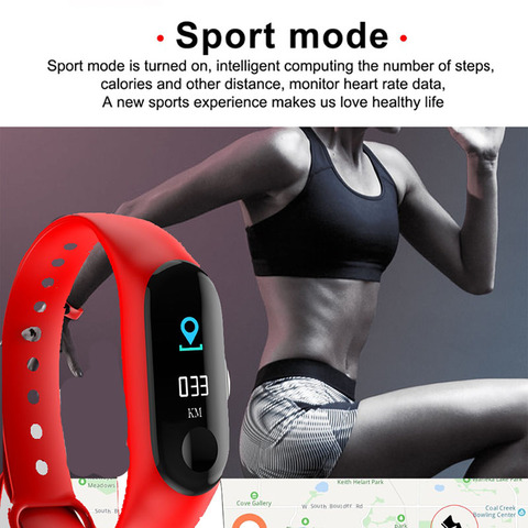 Smart Electronics Watch M3 Plus Color Screen Wristband Heart Rate Activity Fitness Tracker Smart Electronic Smart Watches Karachi