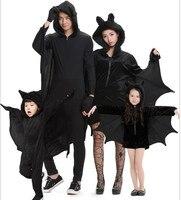Halloween costumes Children's jumpsuit Batman costume girl bat loaded adult Batman clothing parent child wear