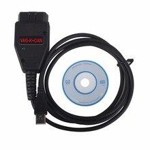 Автомобилей VAG K + может кабель командующий Полный 1.4 диагностический кабель разъем адаптера COM для VW Audi Skoda высокое качество
