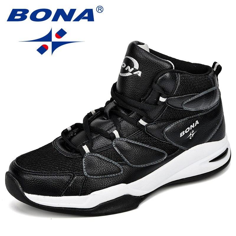 BONA 2018 Zapatos de baloncesto para hombres Zapatos Hombre Ultra verde Boost New camuflaje Basket Hombre
