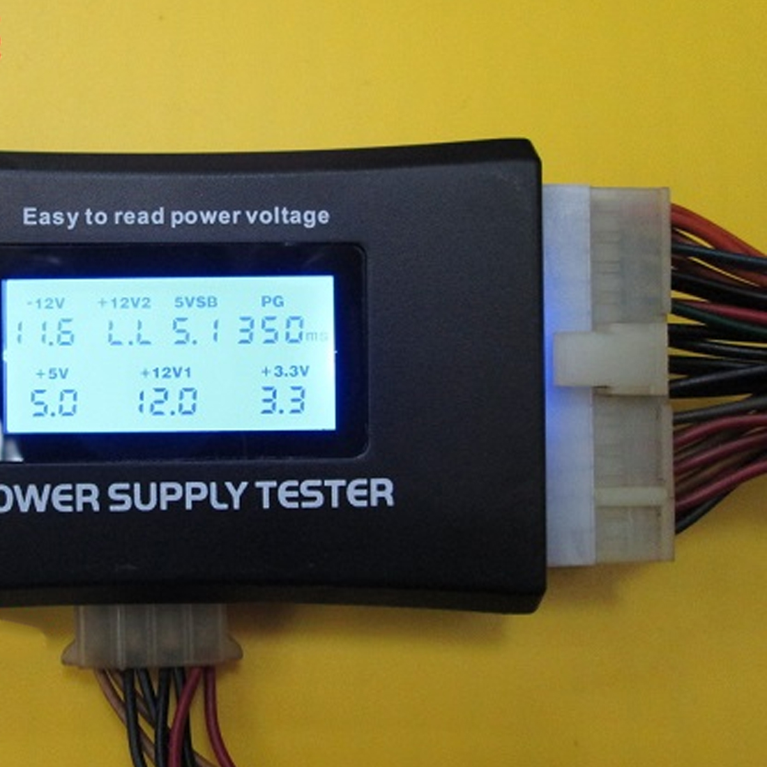 LCD Digital Display PC Power Supply Tester Checker ATX Measuring Tester Tool