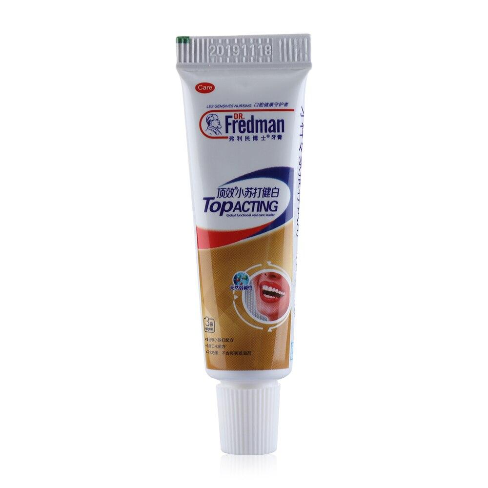 1 Stück 20g Backen Soda Weiß Zahnpasta Zähne Bleaching Reinigung Hygiene Mundpflege 3d Weiß Dental Holzkohle Zahnpasta