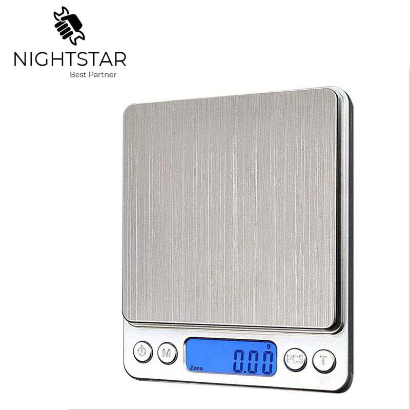 3000g x 0.1g Digital <font><b>Gram</b></font> <font><b>Scale</b></font> Pocket Electronic Jewelry Weight <font><b>Scale</b></font> 500g x <font><b>0.01g</b></font> <font><b>Scale</b></font> image