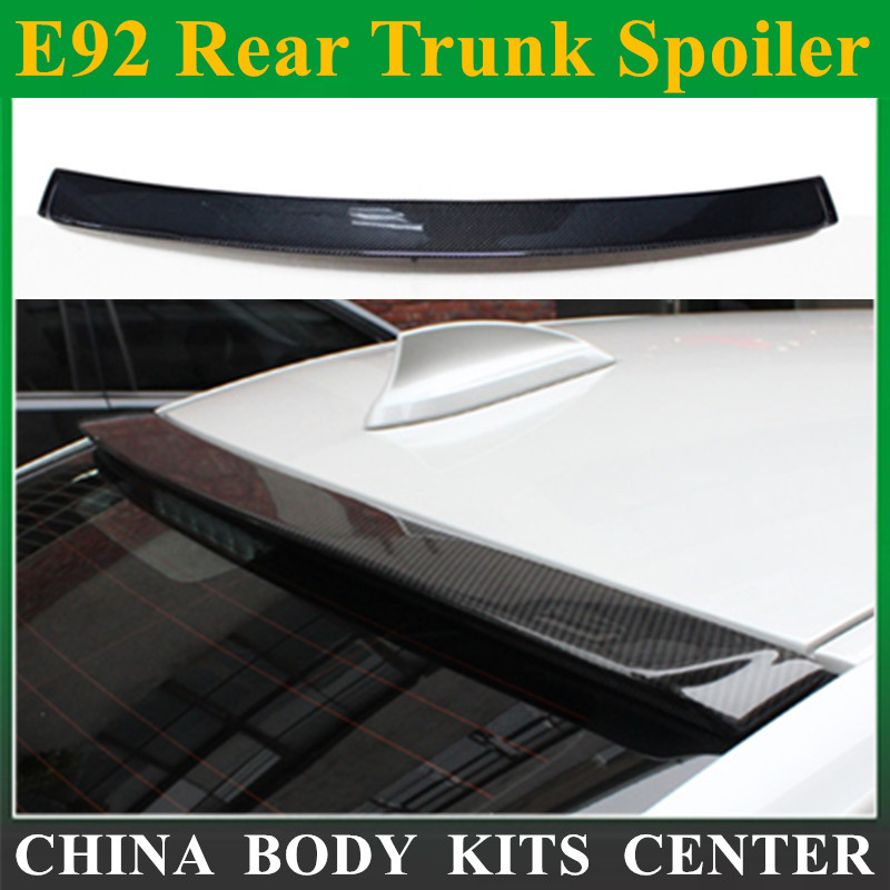 E92 AC Schnitzer ac Style задний спойлер на багажник из углеродного волокна аэродинамическое крыло автомобиля для BMW 3 серии E92 2005 2011 316i 318i 320i