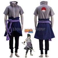 Anime Naruto Sasuke Uchiha Cosplay Costume Ninja Sasuke Wig