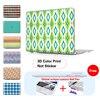 Emerald Green Ikat Diamonds Type Laptop Protective Sleeve For Macbook Bag For Macbook Pro Retina 13