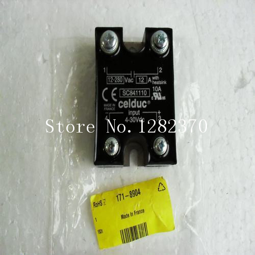 [SA] New French original authentic spot celduc solid state relay SC841110 --2PCS/LOT [sa] new original authentic special sales solid state relay sc869110 spot celduc 2pcs lot