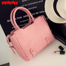 The new 2016 fashion female package One shoulder aslant lady bag PU leather motorcycle bag contracted fashion bag