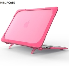 New material EDC For bear Mac book 12 laptop protection shell For Air 11 13 inch Apple computer wrestling sets