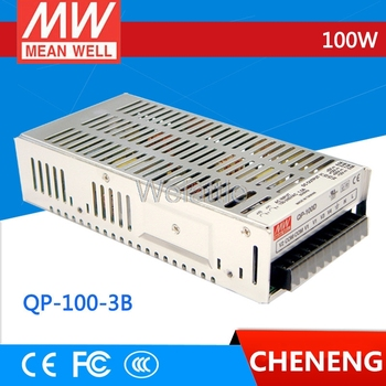 MEAN WELL original QP-100-3B meanwell QP-100-3 100W Quad Output with PFC Function Power Supply