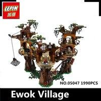 IN STOCK Free Shipping 1990pcs Lepin 05047 Star Wars Ewok Village Building Blocks Juguete Para Construir