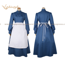 Kisstyle Fashion Howl's Moving Castle Sophie Hatter Uniform COS Clothing Cosplay Costume,Customized Accepted