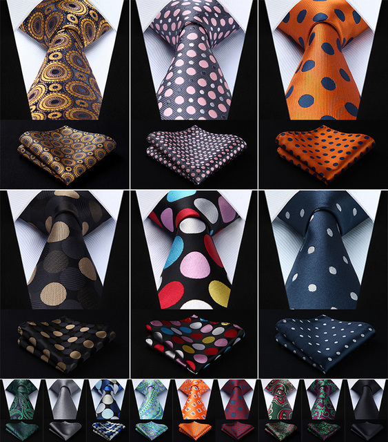 Aliexpress compre paisley check dot 34silk woven wedding men paisley check dot 34silk woven wedding men tie necktie handkerchief setrm1 pocket ccuart Images