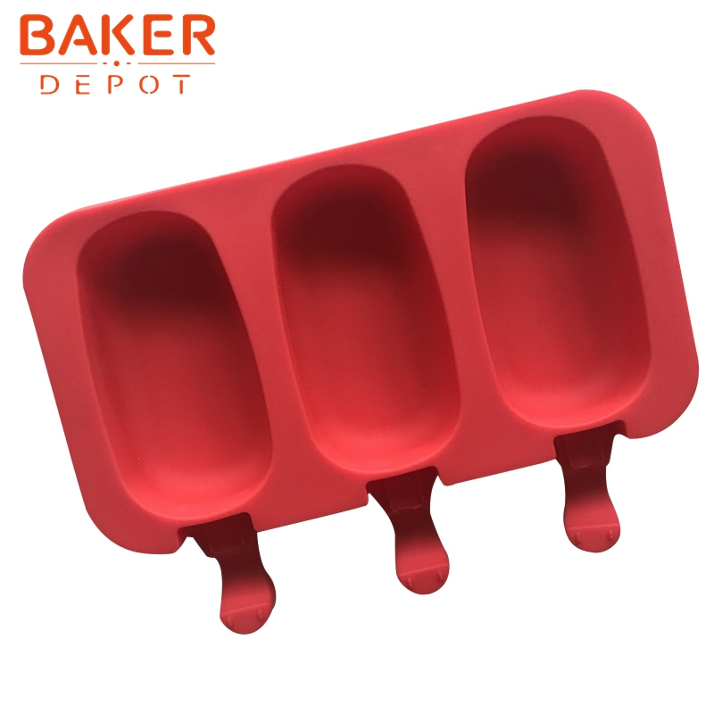 BAKER DEPOT Silicone Molds for icecream ice cube DIY chocolate tools candy pudding molds CDSM-708