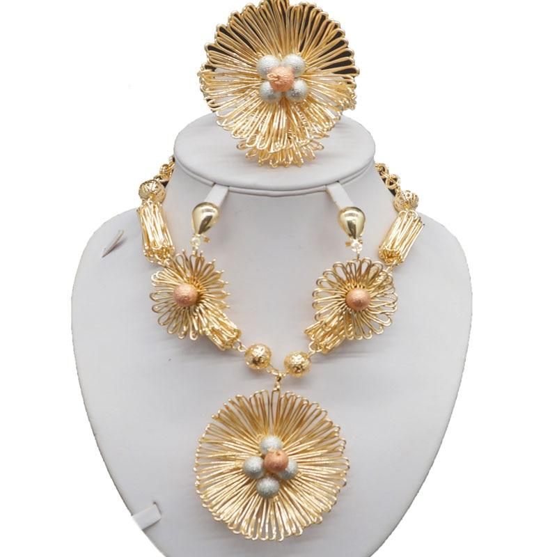 афрички накит златни накит поставља - Модни накит