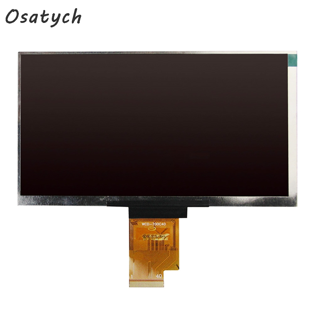 7 inch LCD Screen For 7 KURIO Tablet 070LB8S 1030300358/C Panel Display Replacement