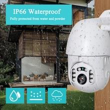 2.5inch Mini outdoor 2MP IP PTZ wifi IP66 Waterproof two way audio cloud storage wireless Camera