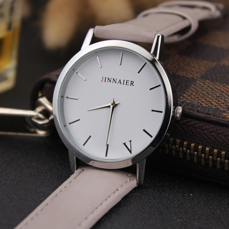 Women Watches Ultra Thin Genuine Leather Clock Male Quartz Sport Watch Waterproof Casual Wristwatch Relogio Masculino