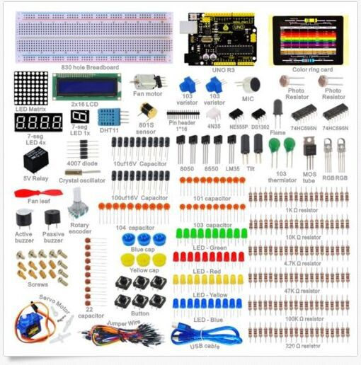 Starter Kit Arduino Beginners Suite Arduino Uno R3 kt001 arduino uno r3 starter kit