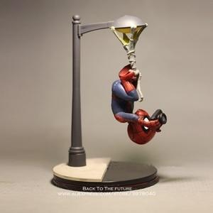 Image 3 - Disney Marvel Avengers 14cm Spider Man take photo Action Figure Model Anime Mini Doll Decoration Collection Figurine Toys model